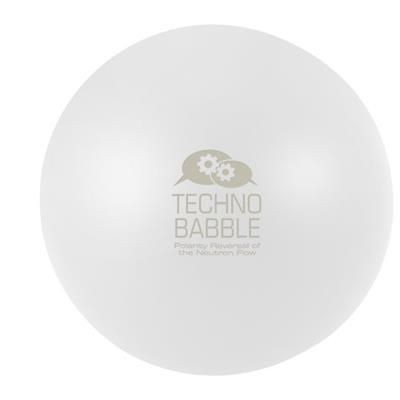 Picture of COOL ROUND STRESS RELIEVER in White Solid