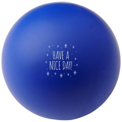 Picture of COOL ROUND STRESS RELIEVER in Royal Blue