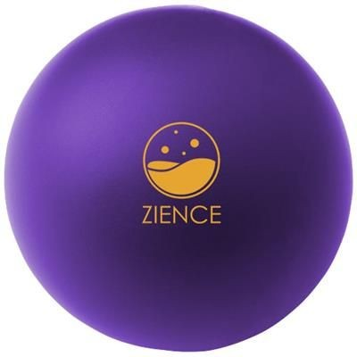 Picture of COOL ROUND STRESS RELIEVER in Purple