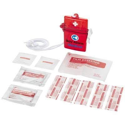 Picture of HASTE 10-PIECE FIRST AID KIT in Red