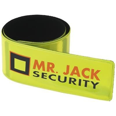 Picture of HITZ REFLECTIVE SAFETY SLAP WRAP in Yellow