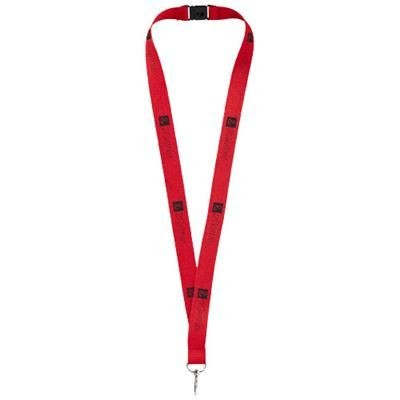 Picture of LAGO LANYARD with Break-away Closure in Red
