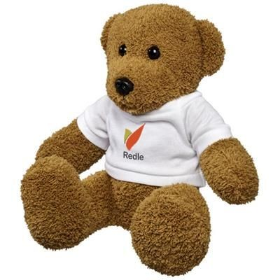 Picture of LARGE PLUSH RAG BEAR with Shirt in White Solid
