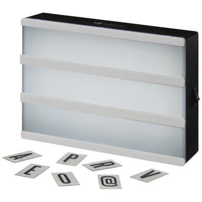Picture of CINEMA A5 DECORATIVE LIGHT BOX in White Solid