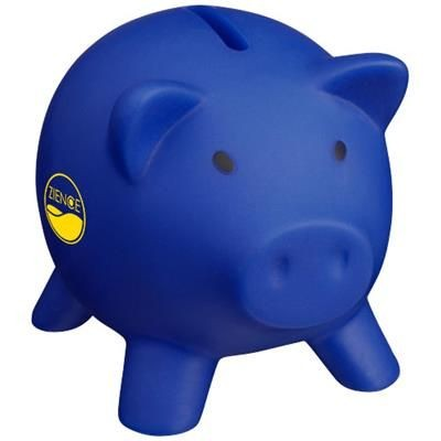 Picture of PIGGY COIN BANK in Blue