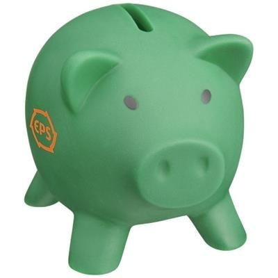 Picture of PIGGY COIN BANK in Green