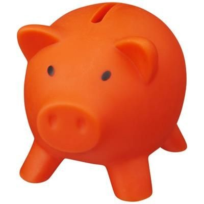 Picture of PIGGY COIN BANK in Orange