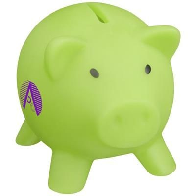 Picture of PIGGY COIN BANK in Lime