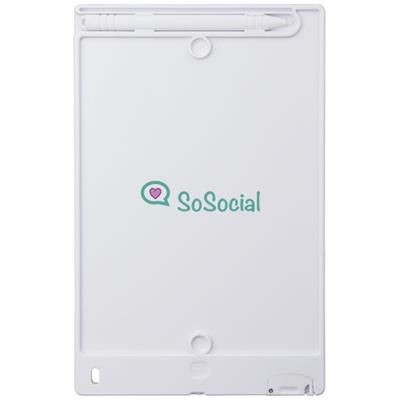 Picture of LEO LCD WRITING TABLET in White Solid