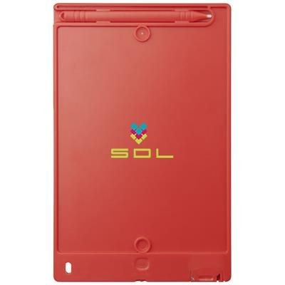 Picture of LEO LCD WRITING TABLET in Red