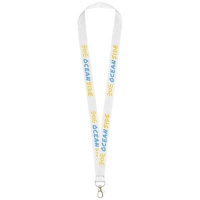 Picture of IMPEY LANYARD with Convenient Hook in White Solid