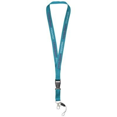 Picture of SAGAN MOBILE PHONE HOLDER LANYARD with Detachable Buckle in Process Blue