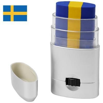 Picture of VELOX BODY PAINT - SWEDEN in Royal Blue-yellow