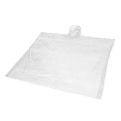 Picture of MAYS 100% BIODEGRADABLE PONCHO in White Solid