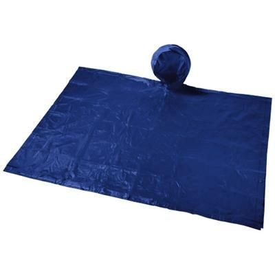 Picture of PAULUS FOLDING PONCHO in Pouch in Navy
