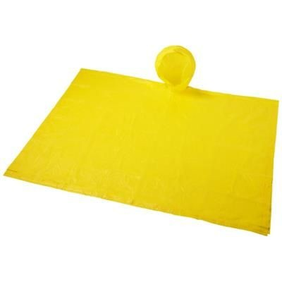 Picture of PAULUS FOLDING PONCHO in Pouch in Yellow