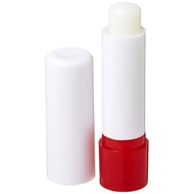 Picture of DEALE LIP BALM STICK in White Solid-red