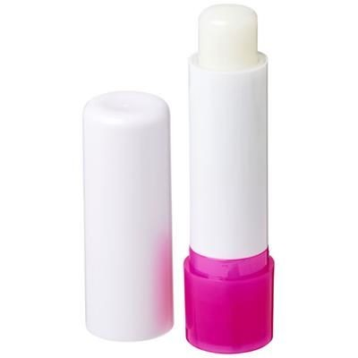 Picture of DEALE LIP BALM STICK in White Solid-pink