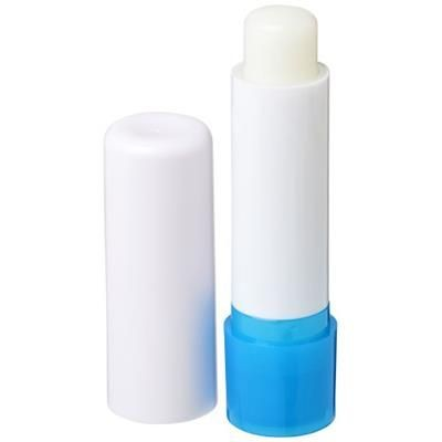 Picture of DEALE LIP BALM STICK in White Solid-blue