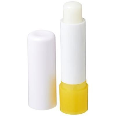Picture of DEALE LIP BALM STICK in White Solid-yellow