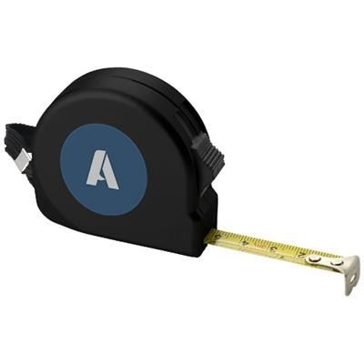 Picture of CLARK 3 METRE MEASURING TAPE in Black Solid