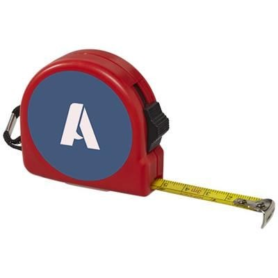Picture of CLARK 3 METRE MEASURING TAPE in Red