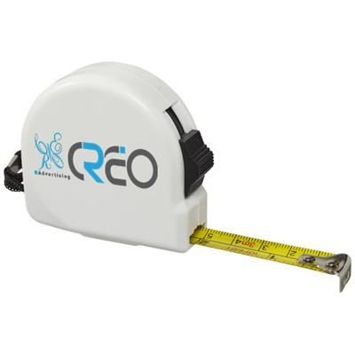 Picture of CLARK 3 METRE MEASURING TAPE in White Solid