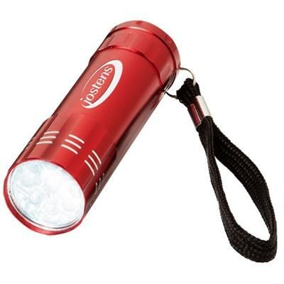 Picture of LEONIS 9-LED TORCH LIGHT in Red