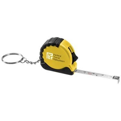Picture of HABANA 1 METRE MEASURING TAPE with Keyring Chain in Yellow