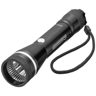 Picture of POLARIS 3W LED TORCH LIGHT with Belt Clip in Black Solid