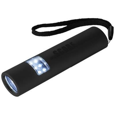 Picture of MINI-GRIP LED MAGNETIC TORCH LIGHT in Black Solid