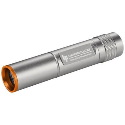 Picture of INSEL 3W CREE LED WATERPROOF TORCH LIGHT in Silver