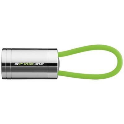 Picture of VELA 6-LED TORCH with Glow Strap in Lime