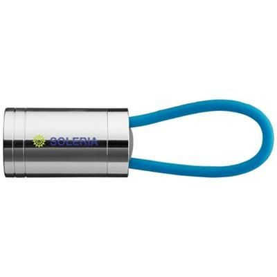 Picture of VELA 6-LED TORCH with Glow Strap in Process Blue