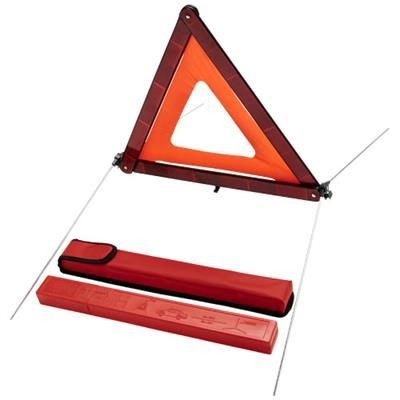 Picture of CARL SAFETY TRIANGULAR in Storage Pouch in Red
