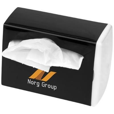 Picture of ROADTRIP WASTE BAG DISPENSER in White Solid-black Solid