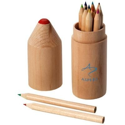 Picture of 12 PIECE PENCIL SET in Wood