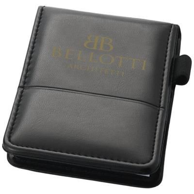 Picture of FLEMMING JOTTER NOTE PAD in Black Solid