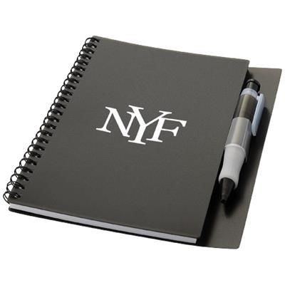 Picture of HYATT NOTE BOOK with Pen in Black Solid