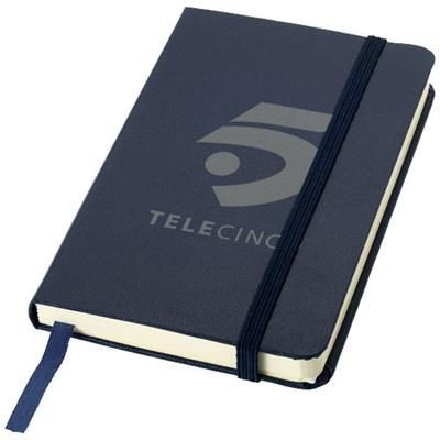 Picture of CLASSIC A6 HARD COVER POCKET NOTE BOOK in Navy
