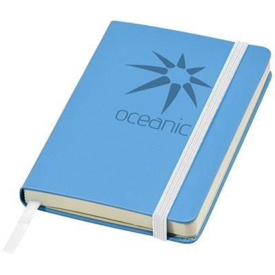 Picture of CLASSIC A6 HARD COVER POCKET NOTE BOOK in Light Blue