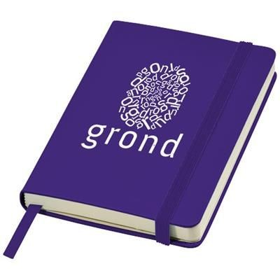 Picture of CLASSIC A6 HARD COVER POCKET NOTE BOOK in Purple
