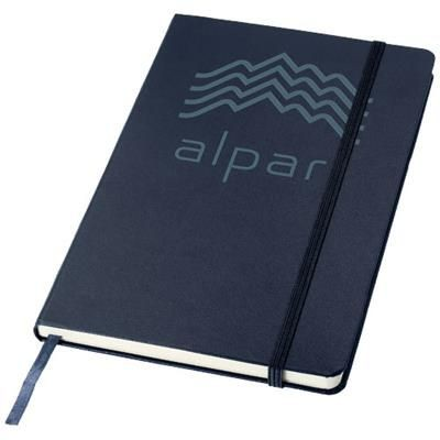 Picture of CLASSIC A5 HARD COVER NOTE BOOK in Navy