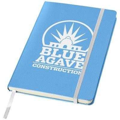 Picture of CLASSIC A5 HARD COVER NOTE BOOK in Light Blue