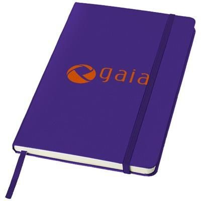 Picture of CLASSIC A5 HARD COVER NOTE BOOK in Purple