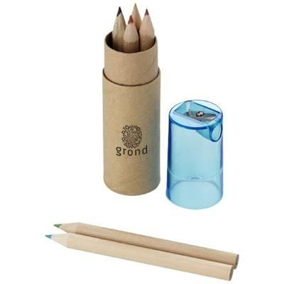Picture of KRAM 7-PIECE COLOUR PENCIL SET in Blue