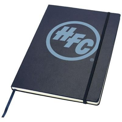 Picture of EXECUTIVE A4 HARD COVER NOTE BOOK in Blue