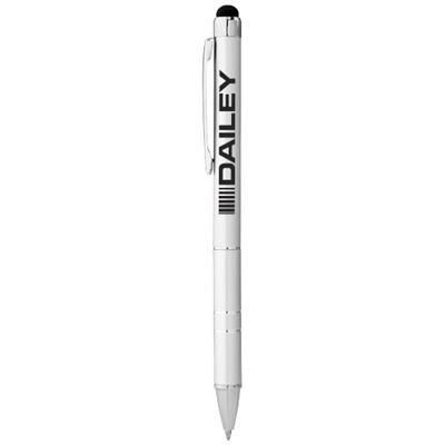 Picture of CHARLESTON ALUMINIUM METAL STYLUS BALL PEN in Silver