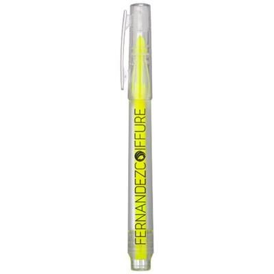 Picture of VANCOUVER RECYCLED HIGHLIGHTER in Transparent Clear Transparent