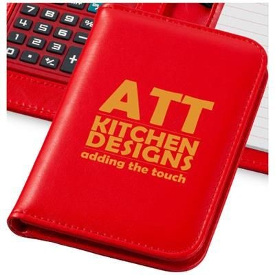 Picture of SMARTI A6 NOTE BOOK with Calculator in Red